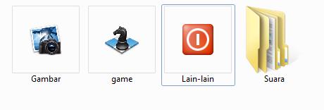 Cara Cepat Mengganti Icon Folder dengan Gambar Keren