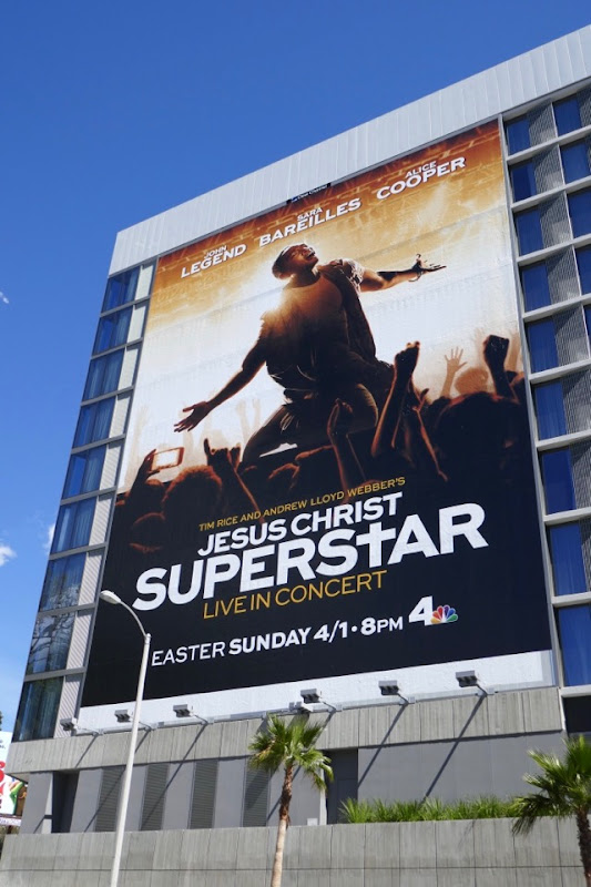 Jesus Christ Superstar 2018 billboard