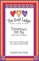 quilt pattern and story tomorrow is for me book 12