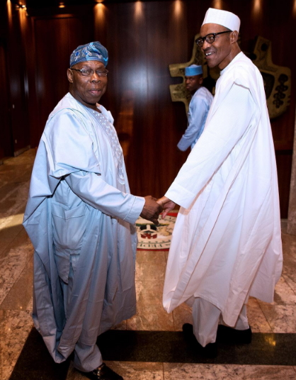 obasanjo hold buhari aso rock