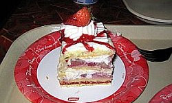 Strawberry Shortcake - Sunshine Seasons The Recipes Of Disney Method of Preparation: