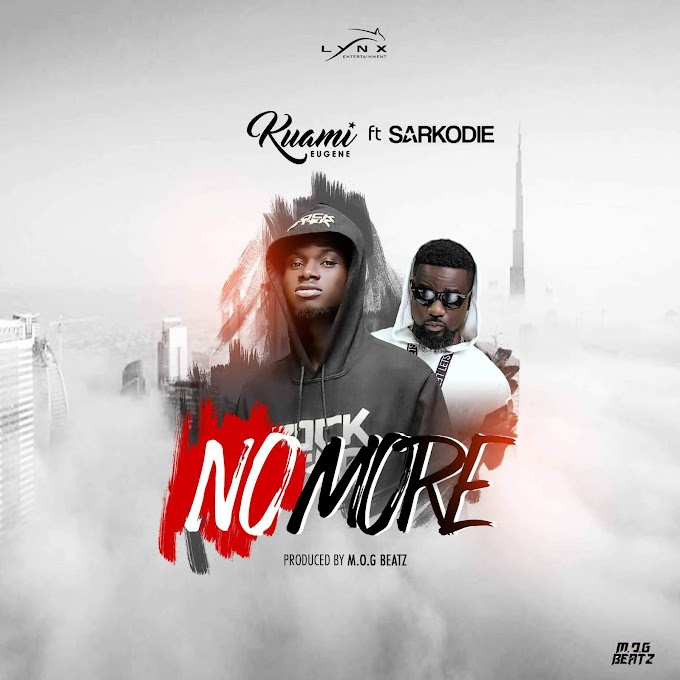 AUDIO: Kuami Eugene Ft. Sarkodie - No More (Official Mp3). || New SONG