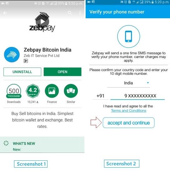 How to create and verify zebpay bitcoin wallet account online how to create and verify zebpay bitcoin wallet account online ccuart Gallery