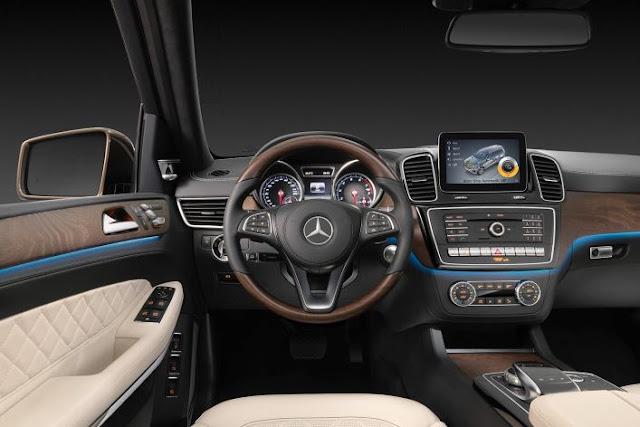 2017 Mercedes-Benz GLS Class  Interior