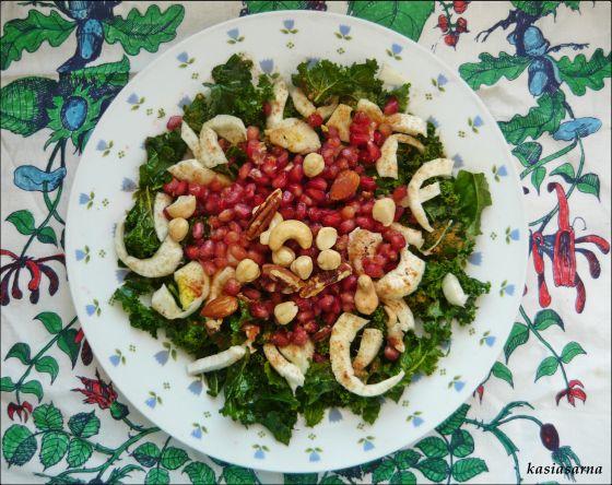wegańska-surówka-fenkuł-jarmuż-blog-przepis