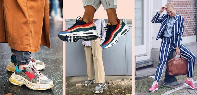 fiebre por las ugly sneakers