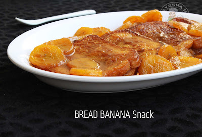 Bread recipes banana recipes ayeshas kitchen snacks recipes yummy snacks easy snacks simple snacks recipes Kerala banana recipes french toast caramel banana