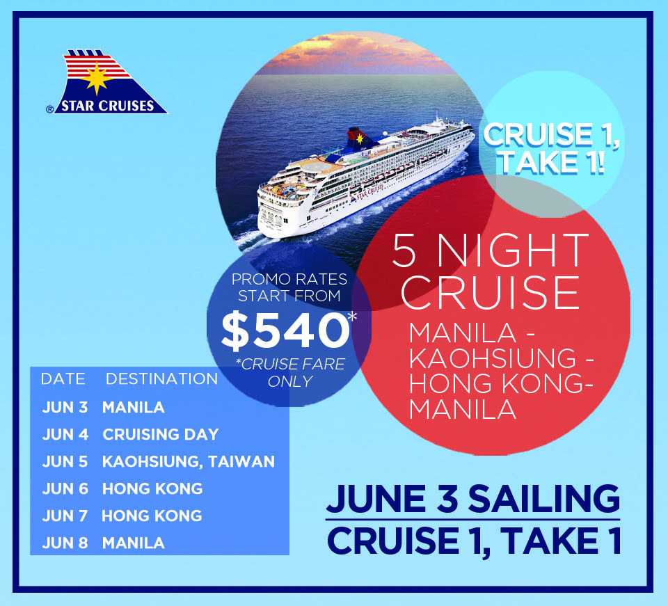 Star Cruises SuperStar Virgo in Manila 2018 Promos Discounts