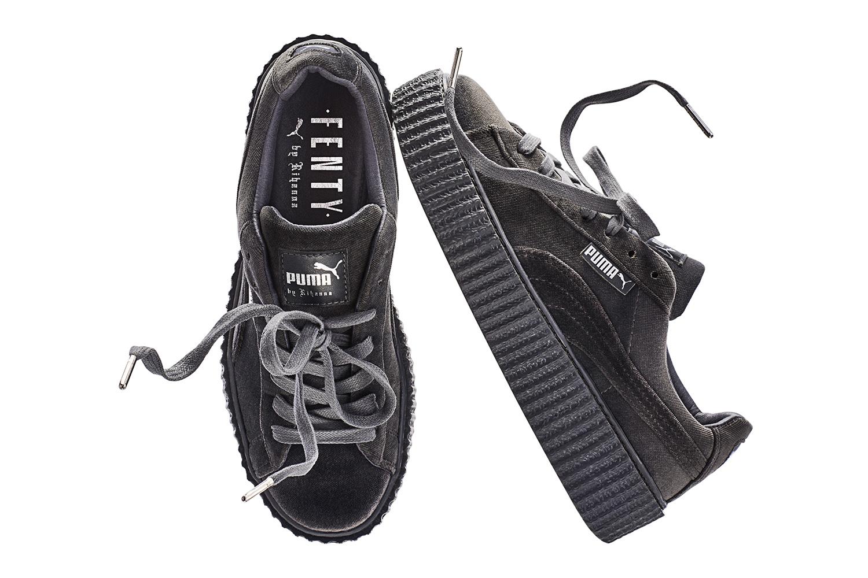 factory price 5fa01 f4c43 Swag Craze: Rihanna's FENTY x PUMA Velvet Creeper Drops This ...