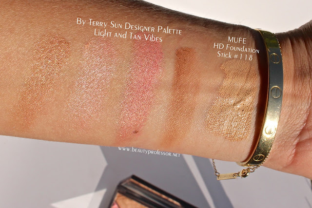 by terry sun designer palette swatches