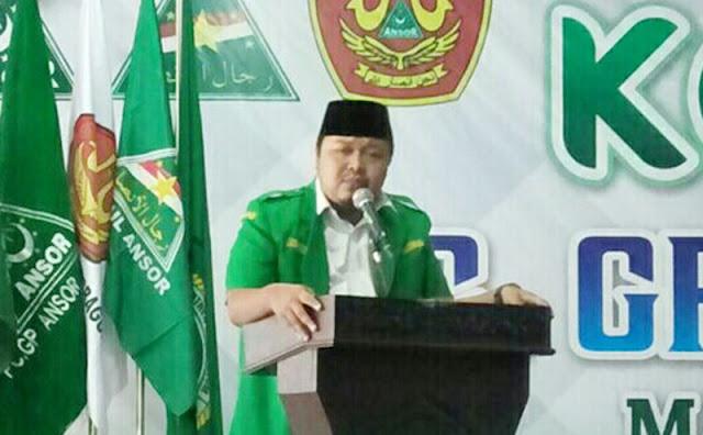 Ansor Jombang: Jangan Sampai Ukhuwah Wathaniyah Hancur Karena Pemilu