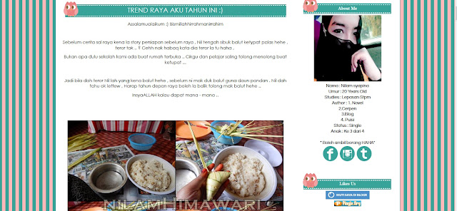 Hasil carian imej untuk blog nilam himawari