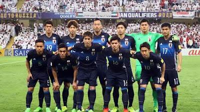Daftar Pemain Timnas Jepang