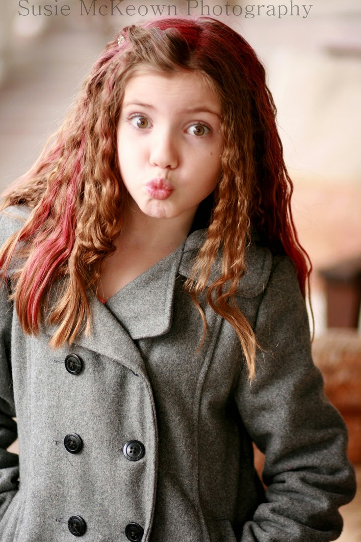 Fun hair styles for girls~crazy hair day