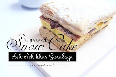 Pre-Launch Surabaya Snow Cake, Oleh-oleh Khas Surabaya bersama Zaskia Sungkar