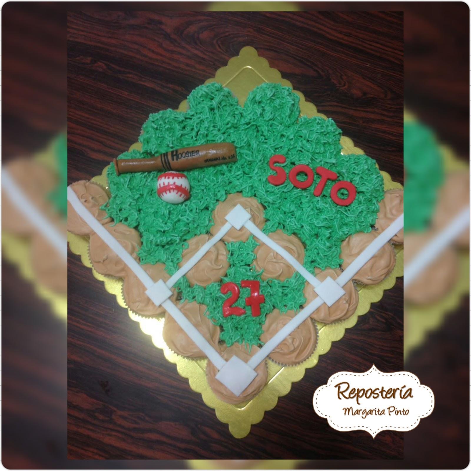 Variedades Y Postres María Margarita Pinto Beisbol Cake