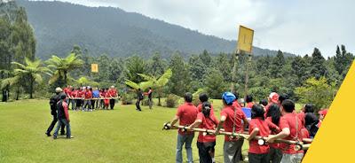 Permainan Outbond di Puncak Bogor