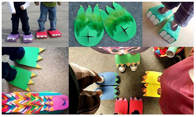 strój dinozaura - przebranie dinozaura - karnawał - zabawa z dzieckiem