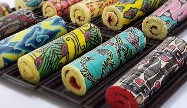 bolu batik unik
