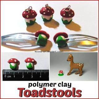 Toadstools wesens-art.blogspot.com
