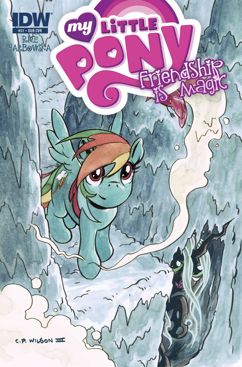 My Little Pony Friendship is Magic #31 Comic Subscription Cover
