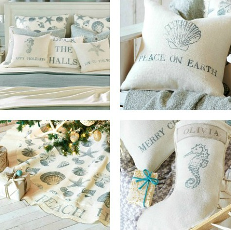 Eastern Accents Coastal Christmas Collection
