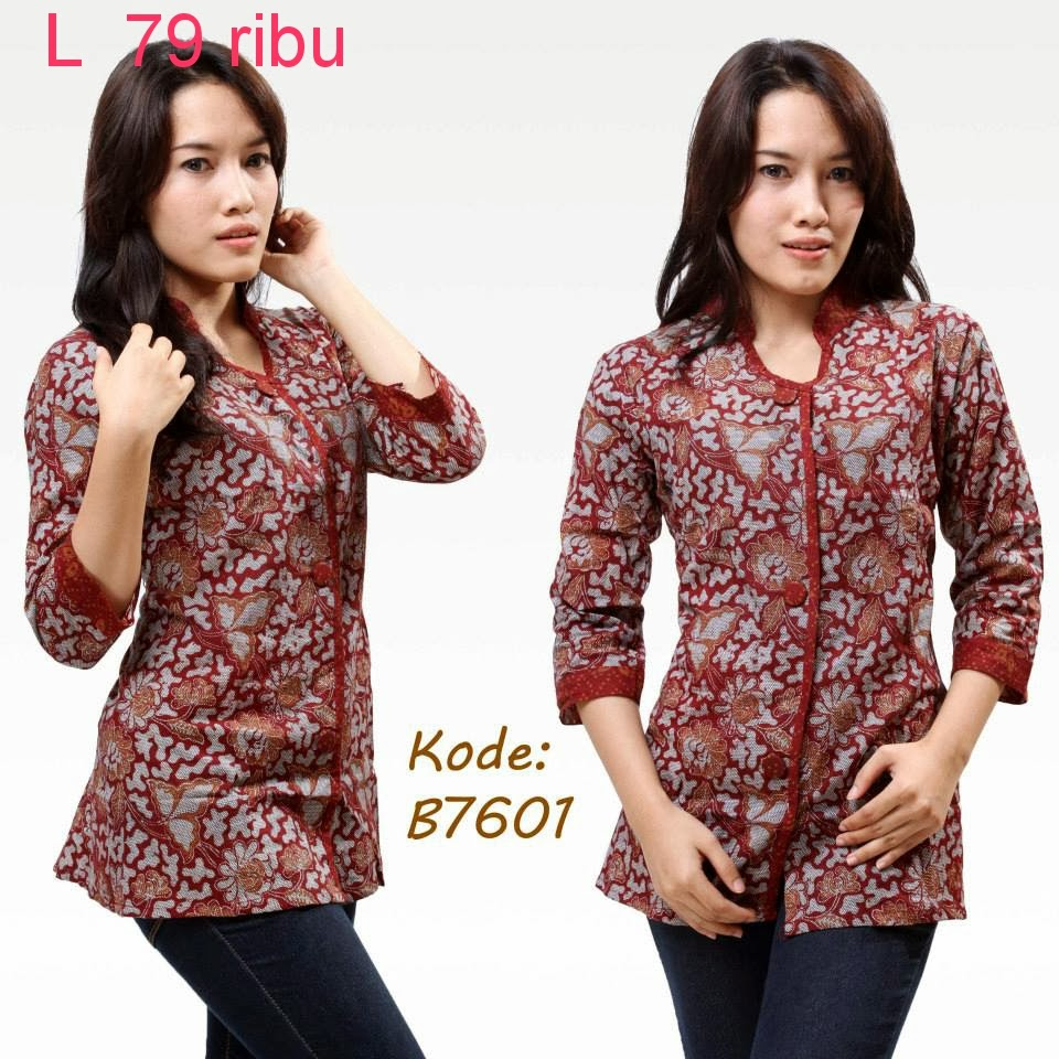 Model Baju Batik Zaskia Mecca: Model Atasan Baju Batik