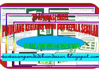 Download 20 Aplikasi Excel penunjang kegiatan guru dan kepala sekolah