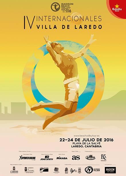 IV Internacionales Villa de Laredo: Beach Boley Tour 2016