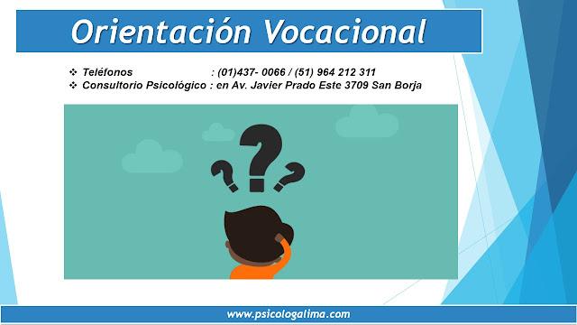 Orientación Vocacional en Lima