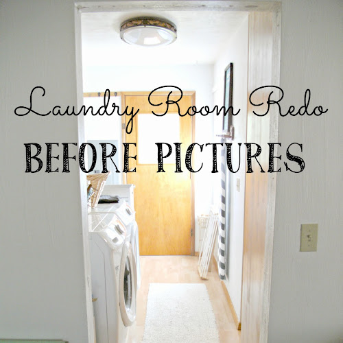 Laundry Room Redo - Before Pictures