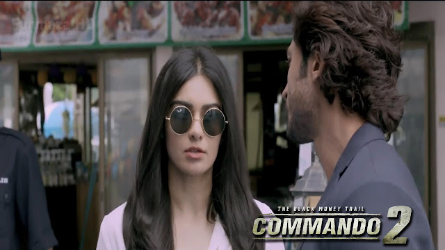 Commando 2 Movie Hero & Heroine Wallpaper