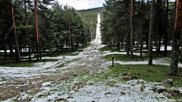 AlfonsoyAmigos - Rutas MTB - Nieve en San Rafael