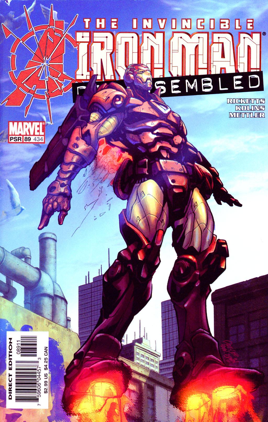 Iron Man (1998) 89 Page 1