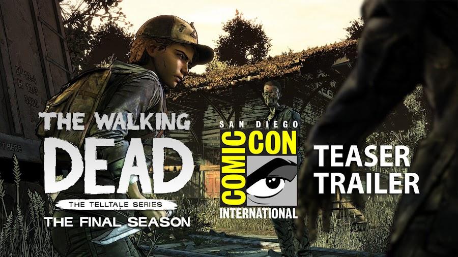 telltale walking dead season 4 sdcc