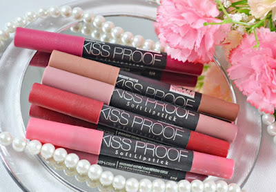 Review Menow Kissprood Soft Matte Crayon Lipstick Pencil