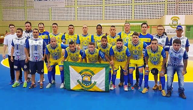 Horizonte empata com o Grêmio e fica perto do 5º título cearense no futsal.