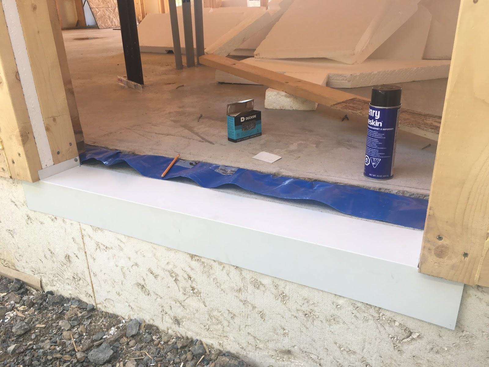 building the air tight barrier door