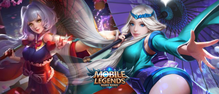wallpaper Kagura mobile legends 3d