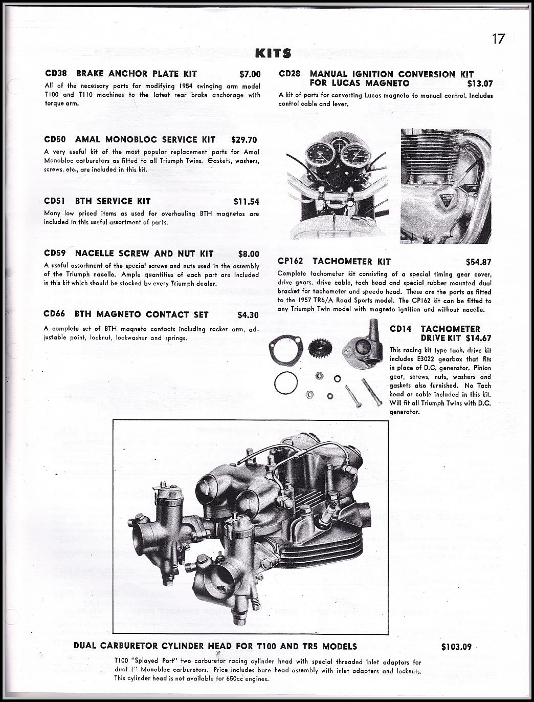 GeekBobber: 1957 TriCor Catalog