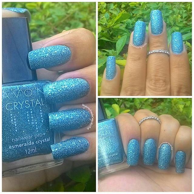 Esmalte Avon Esmeralda Crystal