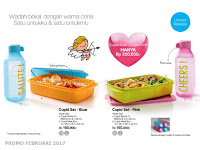 Cupid Set Tupperware Promo Februari 2017