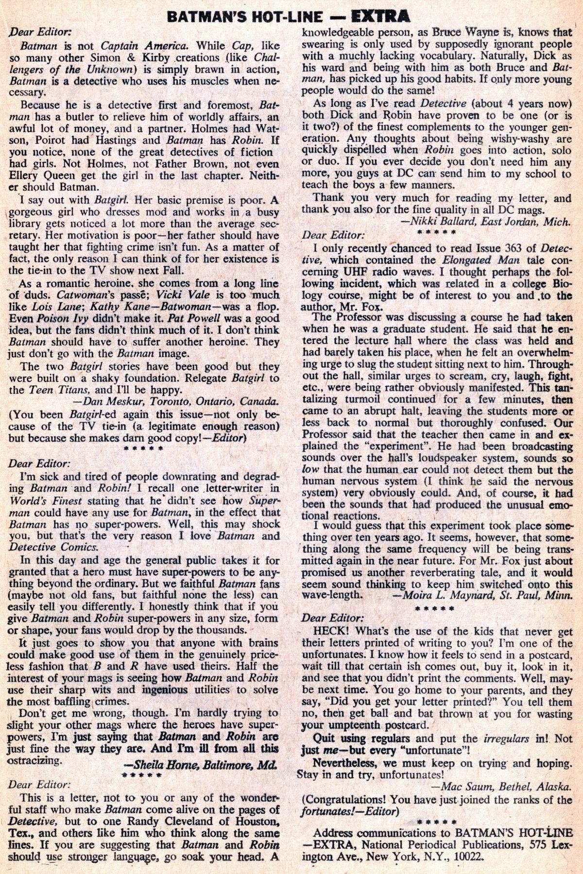 Detective Comics (1937) 369 Page 20