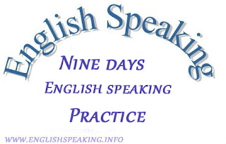 Ninth Days English practice
