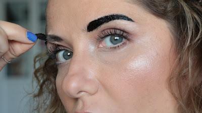 etude house, eyebrow tint, kaş dövmesi, geçici kaş dövmesi