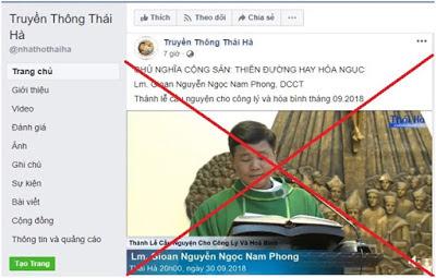 Nguyễn Ngọc Nam Phong chống phá điên cuồng