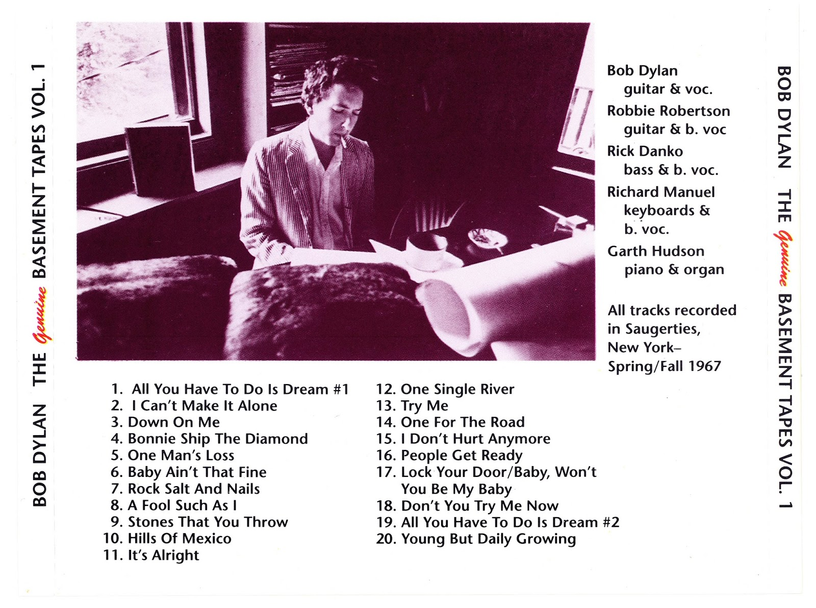 The Genuine Basement Tapes 5CD (IMAGEN+CUE