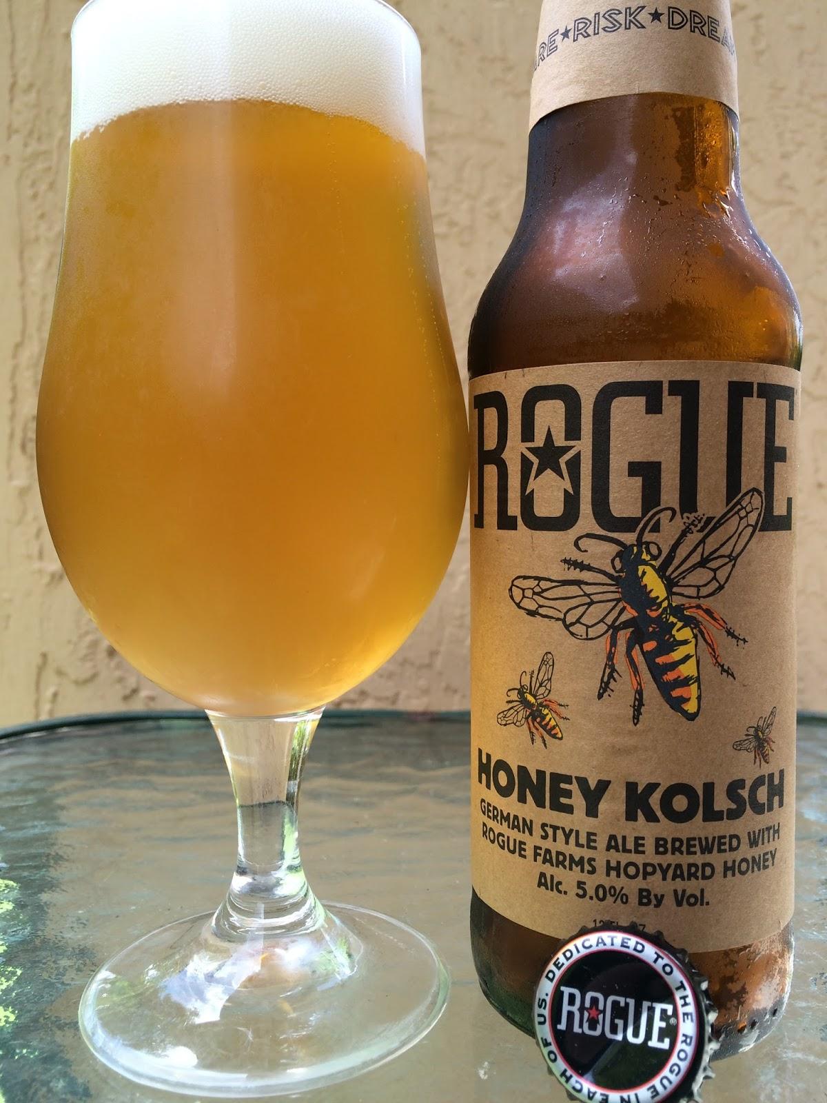 Daily Beer Review Rogue Honey Kolsch