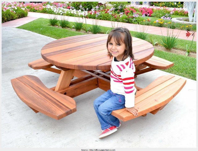 Most Inspiring Little Kids Picnic Table Image