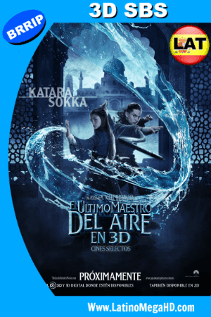 El Ultimo Maestro del Aire (2010) Latino Full 3D SBS 1080P ()